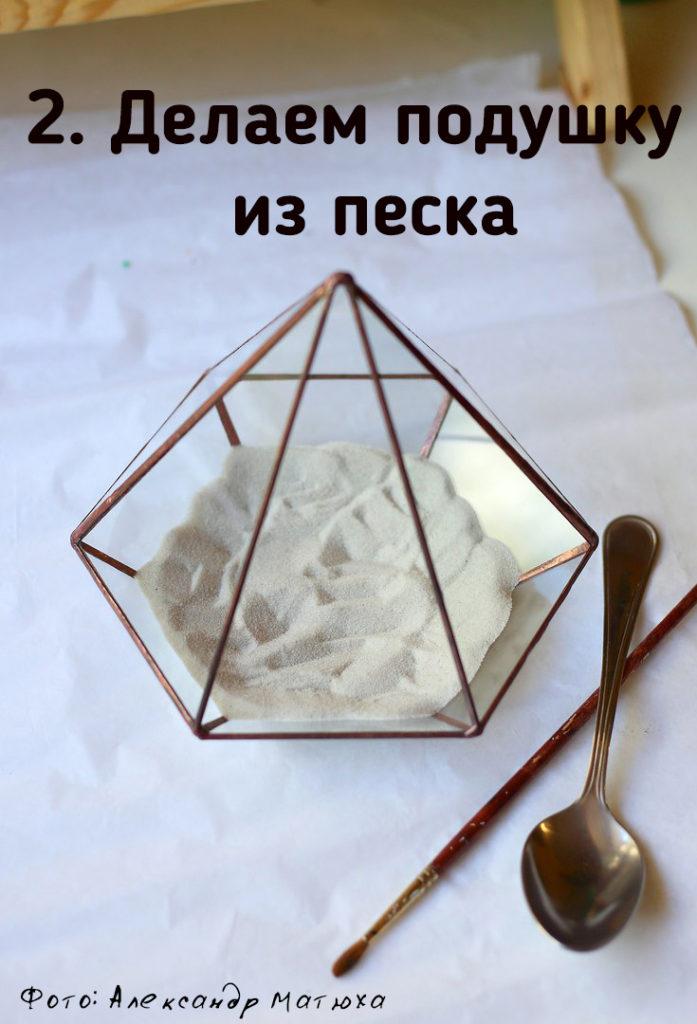 Мастер-класс по наполнению флорариума от цветовода - Александра Матюхи